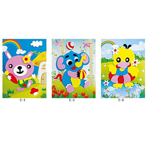 Adhesive Eva Cartoon Stickers