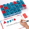 Magnetic Foam Alphabet Letters Board for Kids Spelling And Learning - Classroom & Home Education