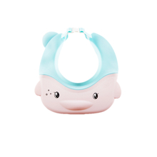 Adjustable Belt Silicone Baby Bath Cap