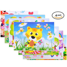 ABMS002 Custom EVA Educational Foam Toys Mosaic Sticker for Kids
