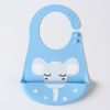 One Piece Modelling Waterproof and Leakproof Silicone Baby Bibs