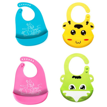 High Quality Easy To Clean Food Grade Silicone Baby Bibs