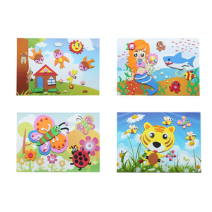 ABMS003 Non Toxic Best Selling Kids Educational Toys EVA Mosaic Sticker